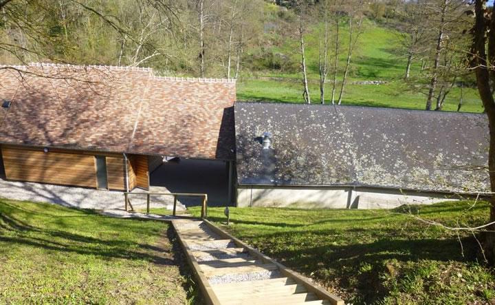 Base de Plein air de Moulins le Carbonnel vue arrière